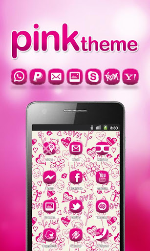 PINK Punk ADW theme HD