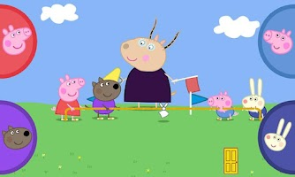 Screenshot of Peppa Pig's Sports Day