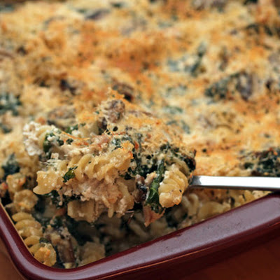 Martha Stewart's Chicken and Kale Casserole