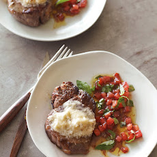 Filets Mignons with Parmesan Butter
