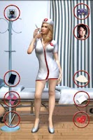 Screenshot of Talking Beautiful Nurse Girl