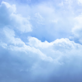 Heaven by Danielle Benbeneck - Landscapes Cloud Formations ( clouds, sky, heaven, blue, white )