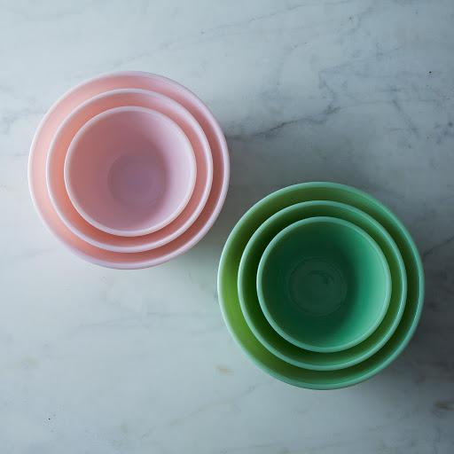 3-Piece Glass Mixing Bowl Set