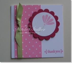 Petals & Paisley 3 x 3 Card 1