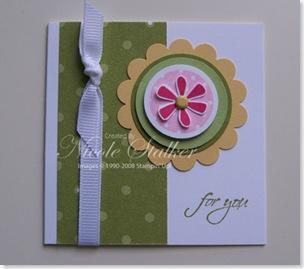 Petals & Paisley 3 x 3 Card 3