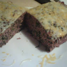 Spinach Mozzarella Meatloaf