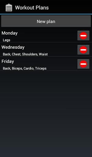Workoutdiary PRO - screenshot