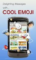 Screenshot of dokomail -decorate emoji email