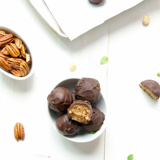 Date Hazelnut Chocolate Truffles