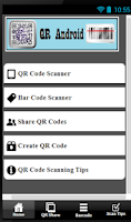 Screenshot of QR Android