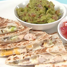 Smoked Chicken And Mango Quesadilla