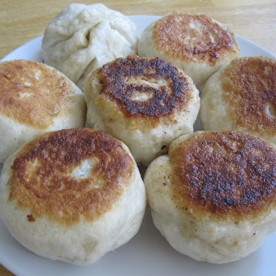 Pan Fried Steamed Buns