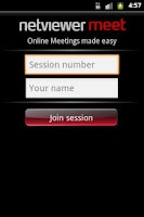 Screenshot of Netviewer Meet Mobile