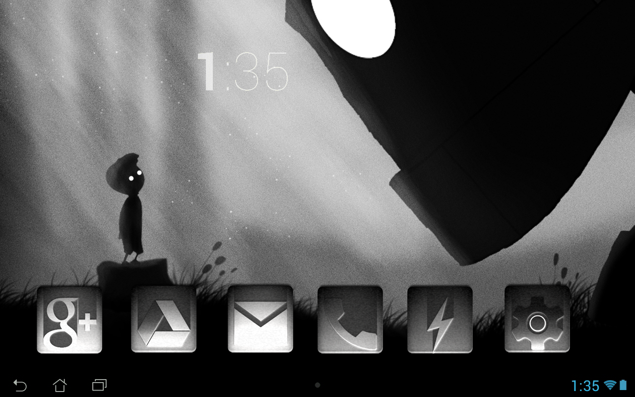 Tha Noir - Icon Pack Screenshot 2