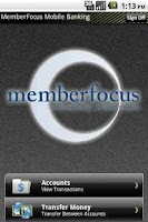 Screenshot of MemberFocus Mobile Banking
