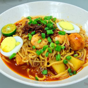 Curry Mee Restoran Gurney Delight Malaysia Food