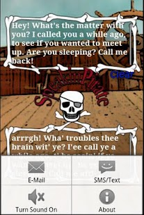 Speakin' Pirate - screenshot