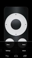 Screenshot of TV (Apple) Remote Control