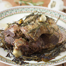 Slow Roasted Leg of Lamb