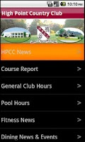 Screenshot of HPCC
