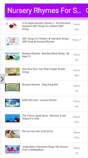 Nursery Rhymes For Small Kids