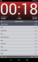 Screenshot of Interval Timer - Seconds Free