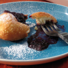 Beignets with Quick Homemade Blackberry Jam