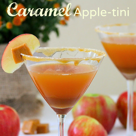 Caramel Apple-tini