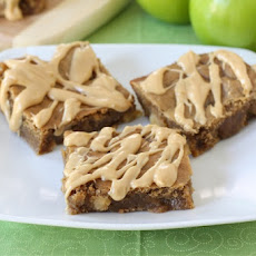 Peanut Butter Apple Bars