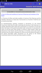 SEBI Act 1992 - screenshot