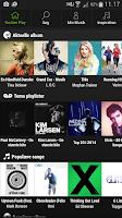Screenshot of YouSee Play Musik