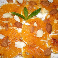 Orange Fruit Salad with Cinnamon