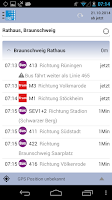 Screenshot of VRB Bus+Bahn