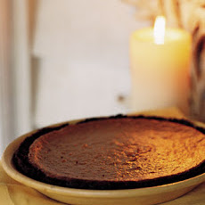 Sweet Potato Pie with Gingersnap Crust