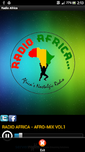 Radio Africa - screenshot