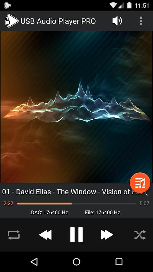 USB Audio Player PRO Screenshot 1