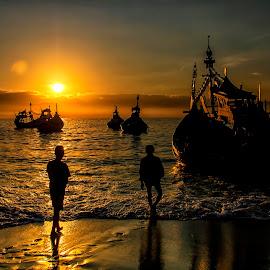 Papuma beach by Agus Sudharnoko - Landscapes Beaches