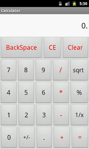 So Simple Calculator