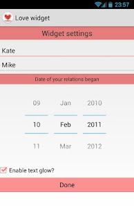 Free Love widget APK for Windows 8