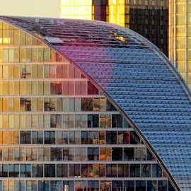 Reflection on the facade of the Moorhouse of London by Marco Poli - Buildings & Architecture Office Buildings & Hotels