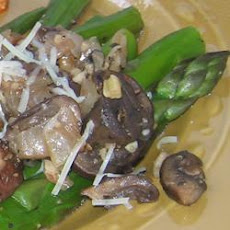 Asparagus with Pecans and Parm