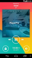 Screenshot of PlayerPro Android KitKat Skin