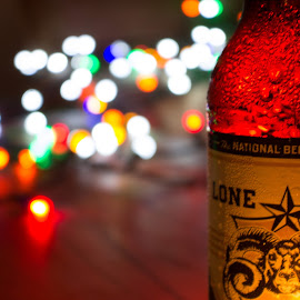 A good beer on a hot night by Ryan Donahue - Food & Drink Alcohol & Drinks ( beer, vacation, texas, summer, relaxation, canon eos )
