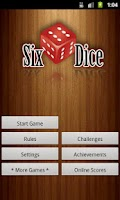 Screenshot of Six Dice