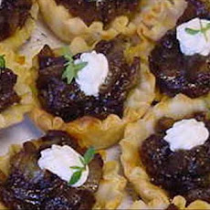 Balsamic Onion Tartlets