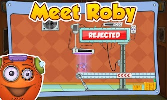 Screenshot of Rescue Roby HD