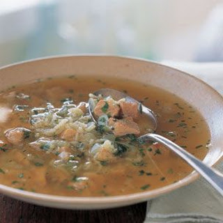 Mexican-Style Pork & Rice Soup