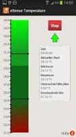 Screenshot of eSense Temperature