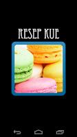 Screenshot of Resep Kue