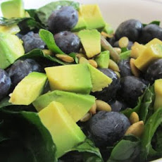 Citrusy Kale Salad W/ Blueberries and Pepitas (& Variations)